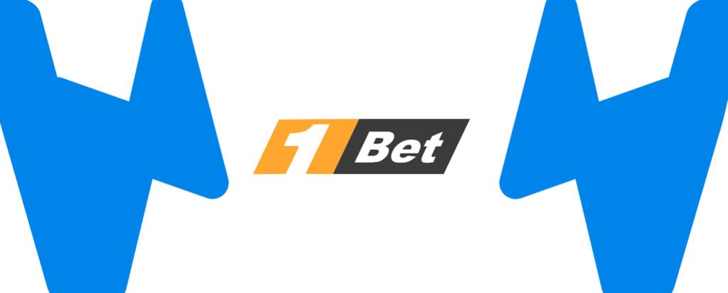 Kleines 1bet Logo mit mit Wettzentrum Design