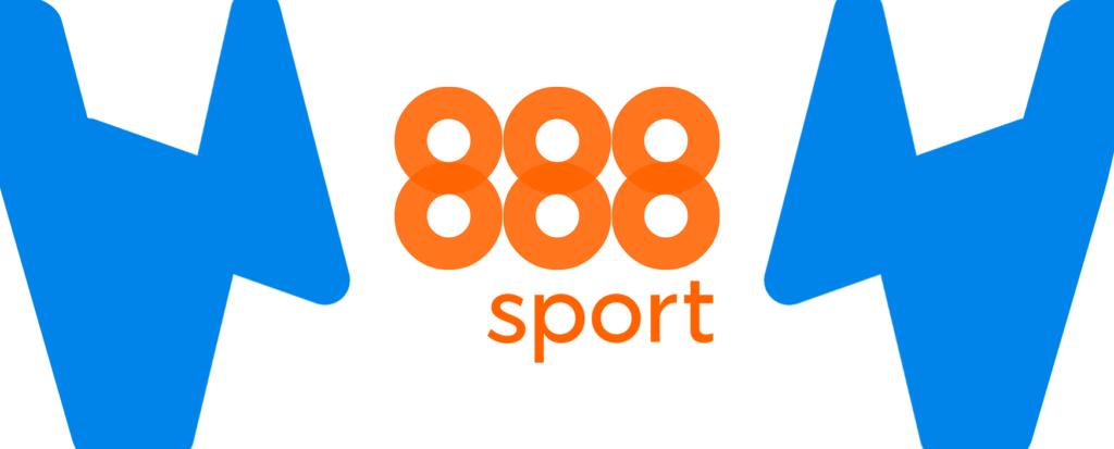 Kleines 888 Logo mit Wettzentrum Design