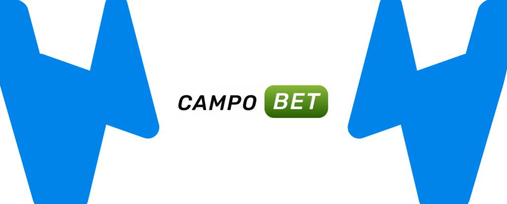 Kleines Campobet Logo mit Wettzentrum Design