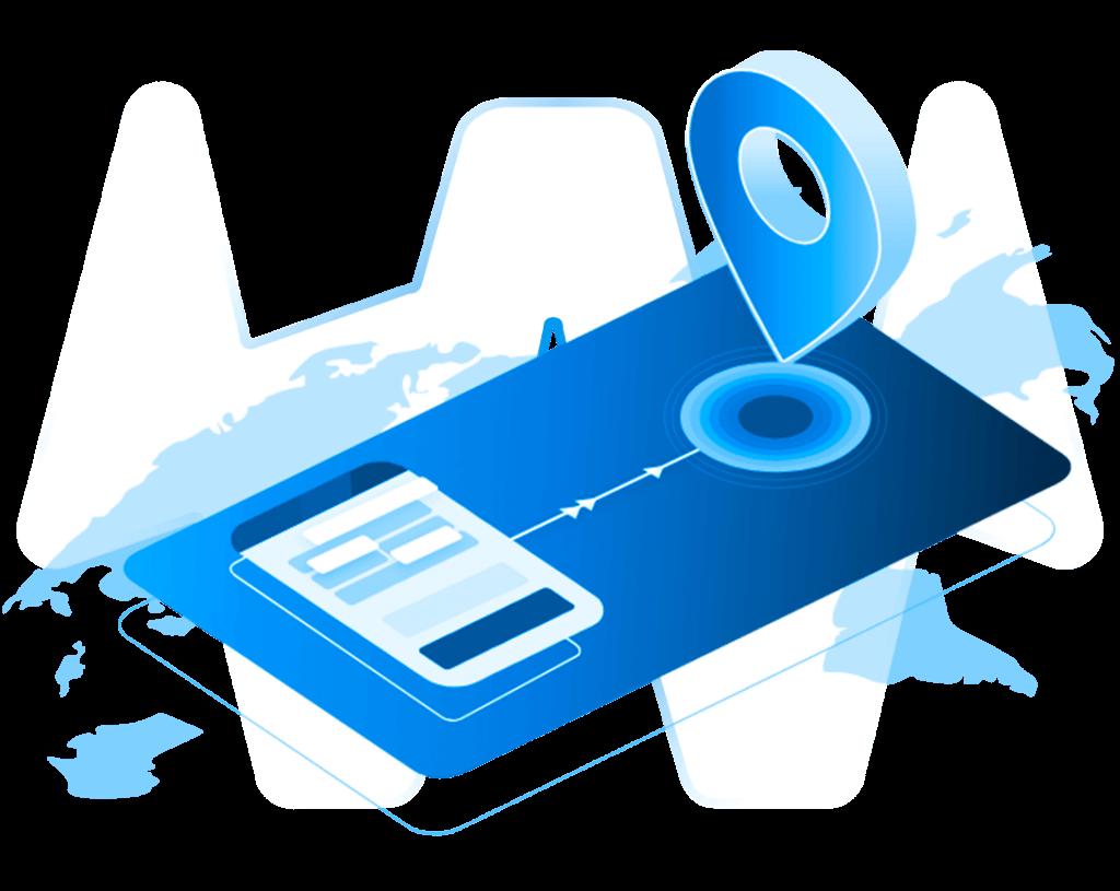 Kreditkarten Illustration mit transparentem Hintergrund