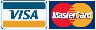 Visa und Mastercard Logo klein