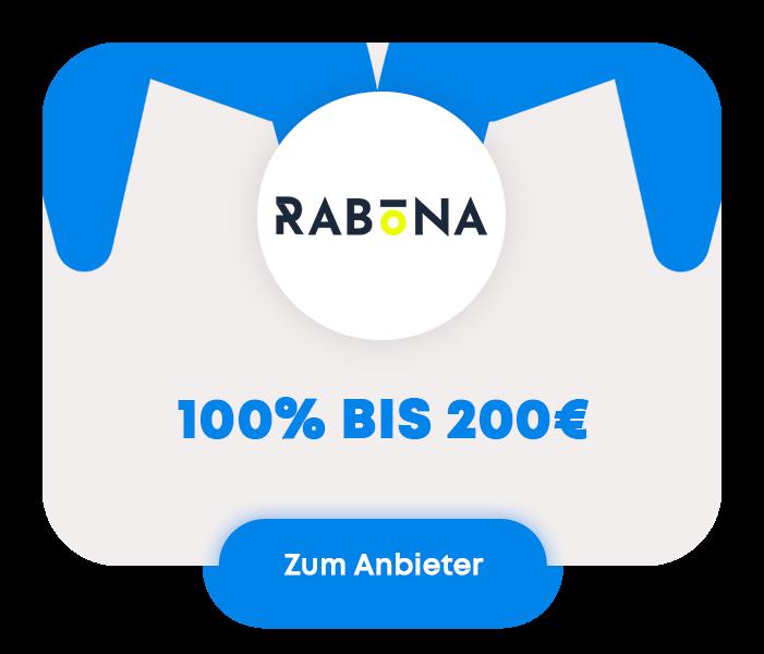 Rabona quadratisches Logo für Homepage
