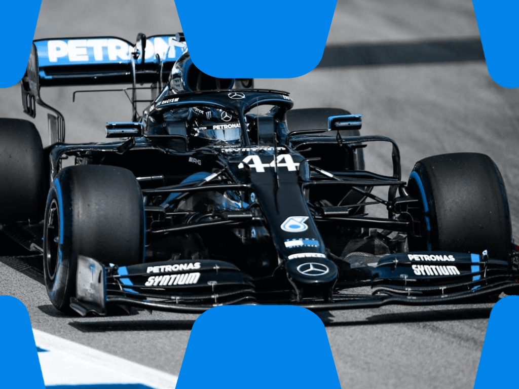 Formel 1 Auto Lewis Hamilton