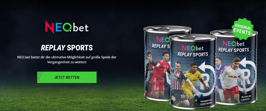 NEO.bet Replay Sports