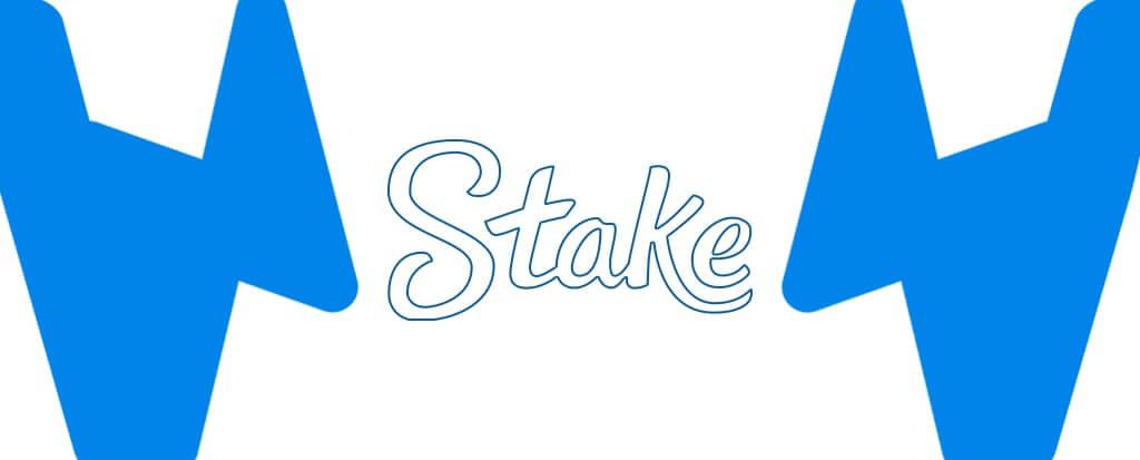 Stake Logo rechteckig