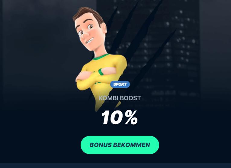 PlayZilla Kombiwetten Boost