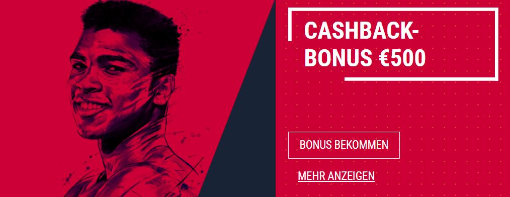 Rabona Cashback Bonus