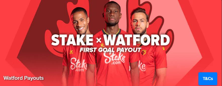 Stake x Watford Sofortauszahlung